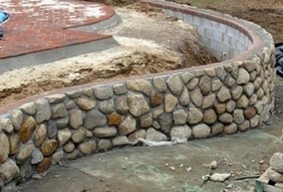 Garden Walls Designs The Garden Stone Wall System