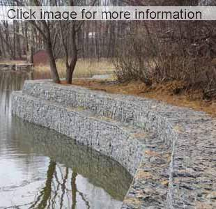 Shropshire learning gateway gabions: