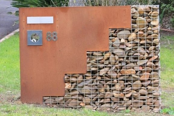 Rock Wall Ideas Garden Wall Designs And Costs Gabion1 Uk