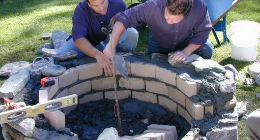fire brick assembly