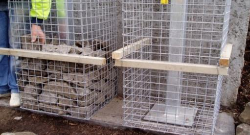 Gabion Stone Pillars And Columns Fences Gate Post Supplies Uk