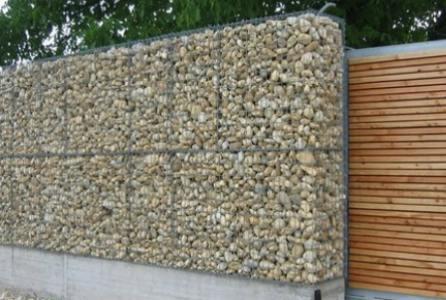 Gabion Fences and Stone Walls Rock fence design UK