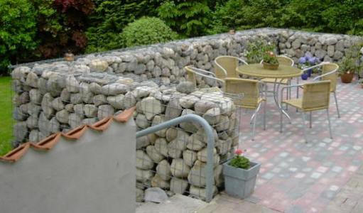 landscape rocks 2 - Gabion Walls Design