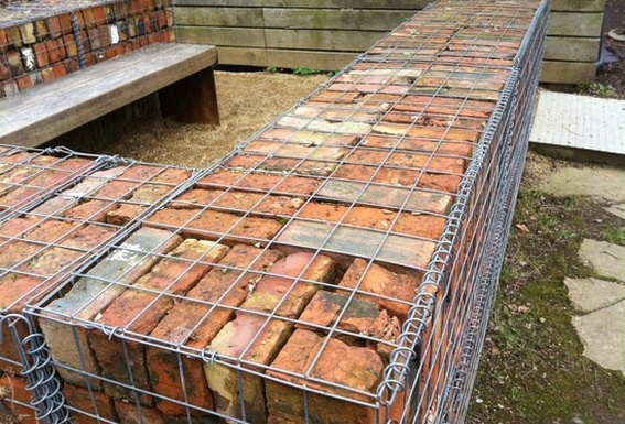Gabion Garden Brick Walls Gabion1 UK