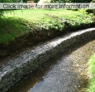 small gabion erosion walls