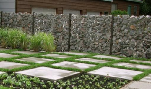 Gabion Fences And Stone Walls Rock Fence Design Uk - garden wall designs uk