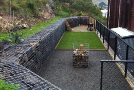 Gabion Landscaping Design Ideas Rocks Stone Walls Fences Uk