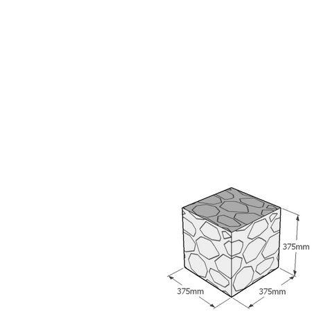 375mm gabion cube