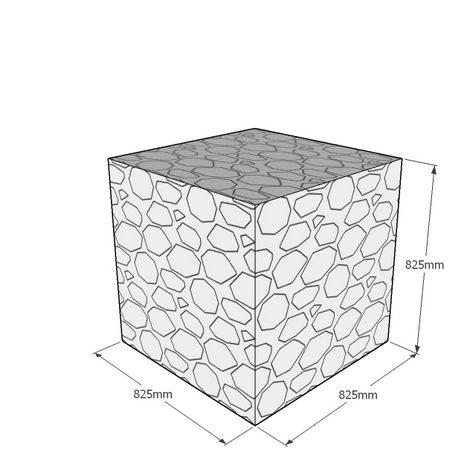 825mm cube gabion