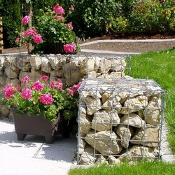 limestone filled gabions