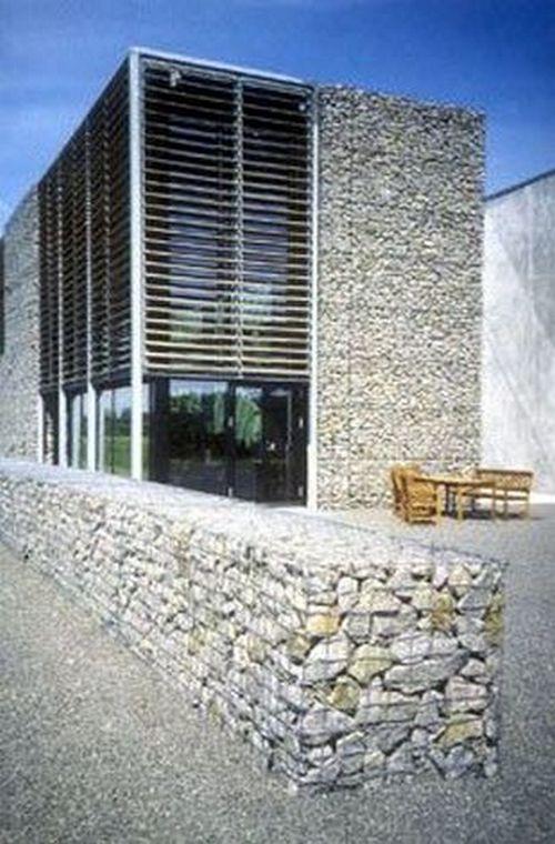 gabion partition fence
