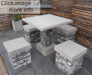 gabion furniture