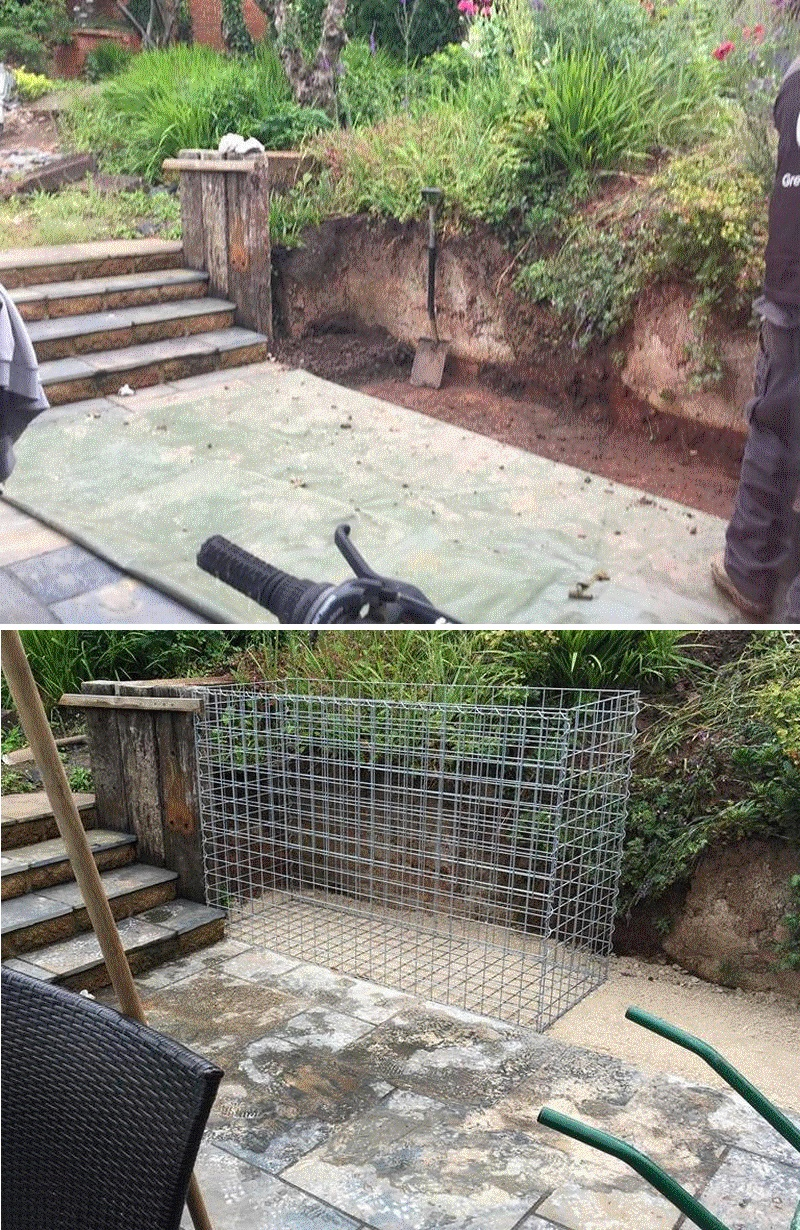 gabion foundation examples