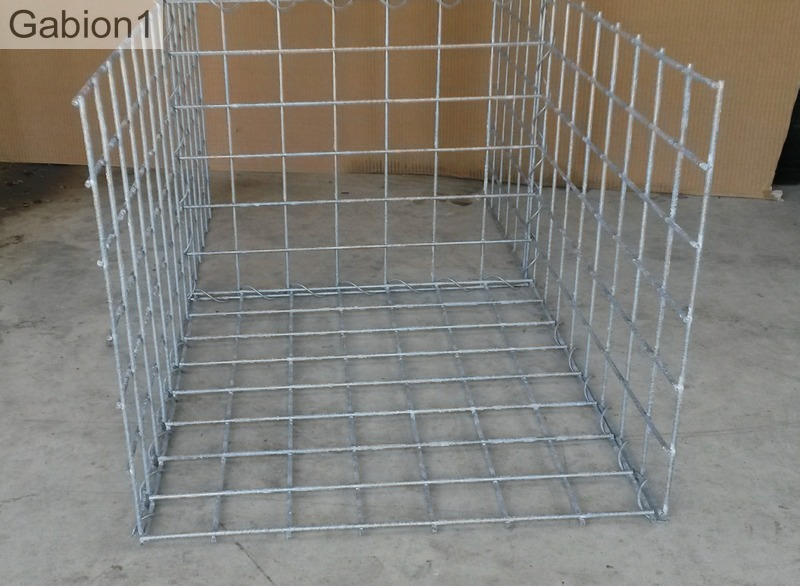 empty gabion basket